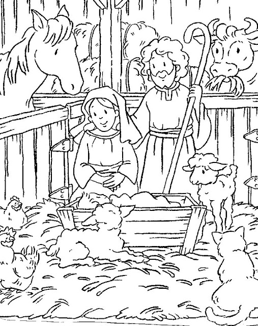 Desenhos Do Nascimento De Jesus Para Imprimir Ideias Mix