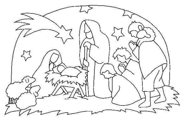 Desenhos Do Nascimento De Jesus Para Pintar Ideias Mix