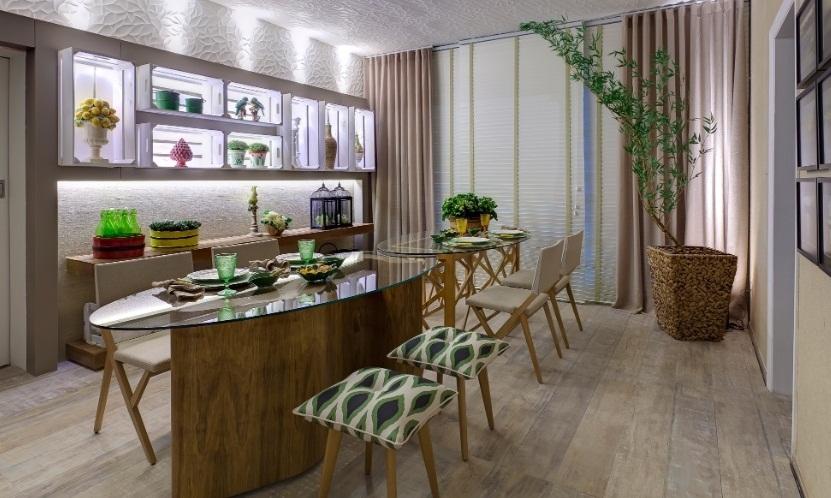 Sala De Jantar De Vidro ~ Confira os belos modelos de mesas de vidro para sala de jantar e faça