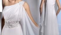 vestidos de noiva estilo grego de um ombro só
