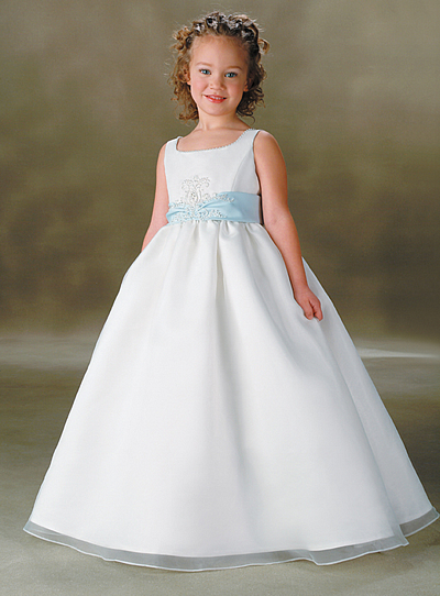 Belos Modelos de Vestidos para Daminhas de Casamento, Lindos e Modernos