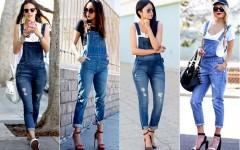 Como Usar um Look Perfeito com um Macacão Jeans Feminino