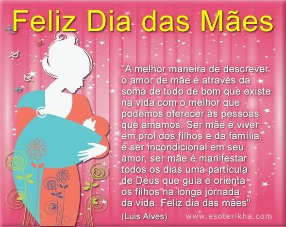 Mensagens De Feliz Dia Das Mães Para Facebook E WhatsApp
