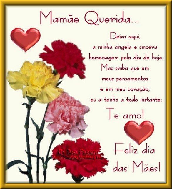 Mensagens De Feliz Dia Das Mães Para Facebook E Whatsapp Ideias Mix