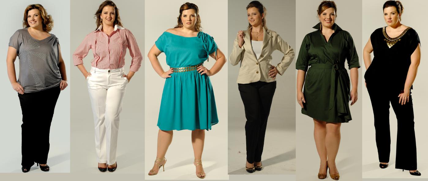 f21550083 Escolha as Mais Belas Roupas Sociais Femininas Plus Size da Moda ...