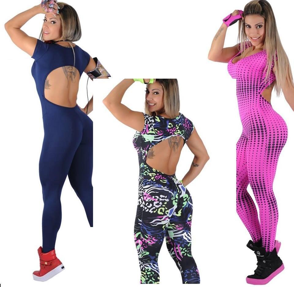 macacão para malhar da moda fitness