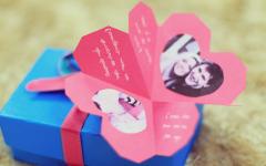 Moldes de Cartão para o Dia dos Namorados: Faça o Seu!!!