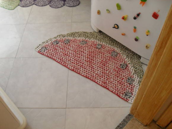 decoracao tapete cozinha : decoracao tapete cozinha:Tapetes de Barbante para Cozinha: Ótimos para Decoração