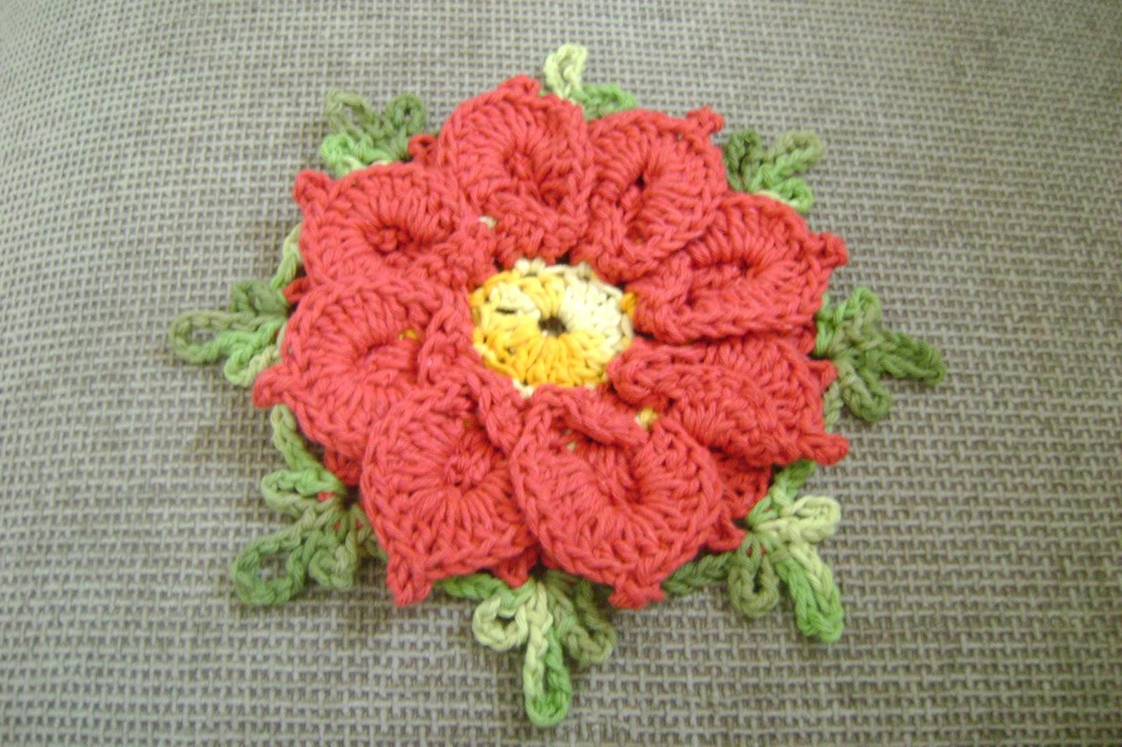 Como Fazer Flores De Crochê Passo A Passo Ideias Mix