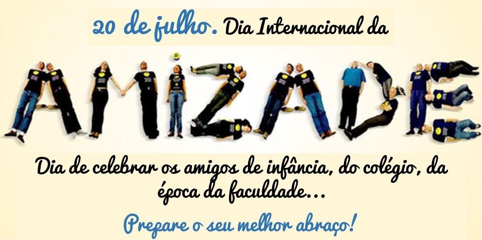 Mensagem para o Dia Internacional da Amizade Para WhatsApp e Facebook