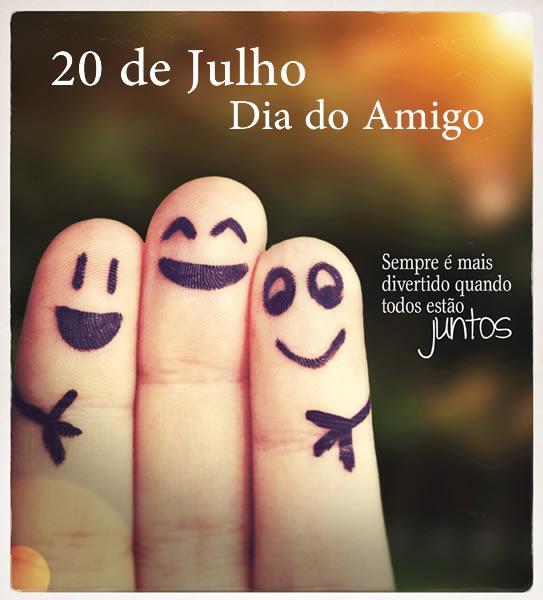 Mensagens Para O Dia Do Amigo 20 De Julho Ideias Mix