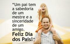 Homenagem Dia dos Pais para Face e WhatsApp