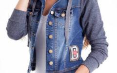 Tendência de Inverno: Jaqueta Jeans com Moletom Feminina