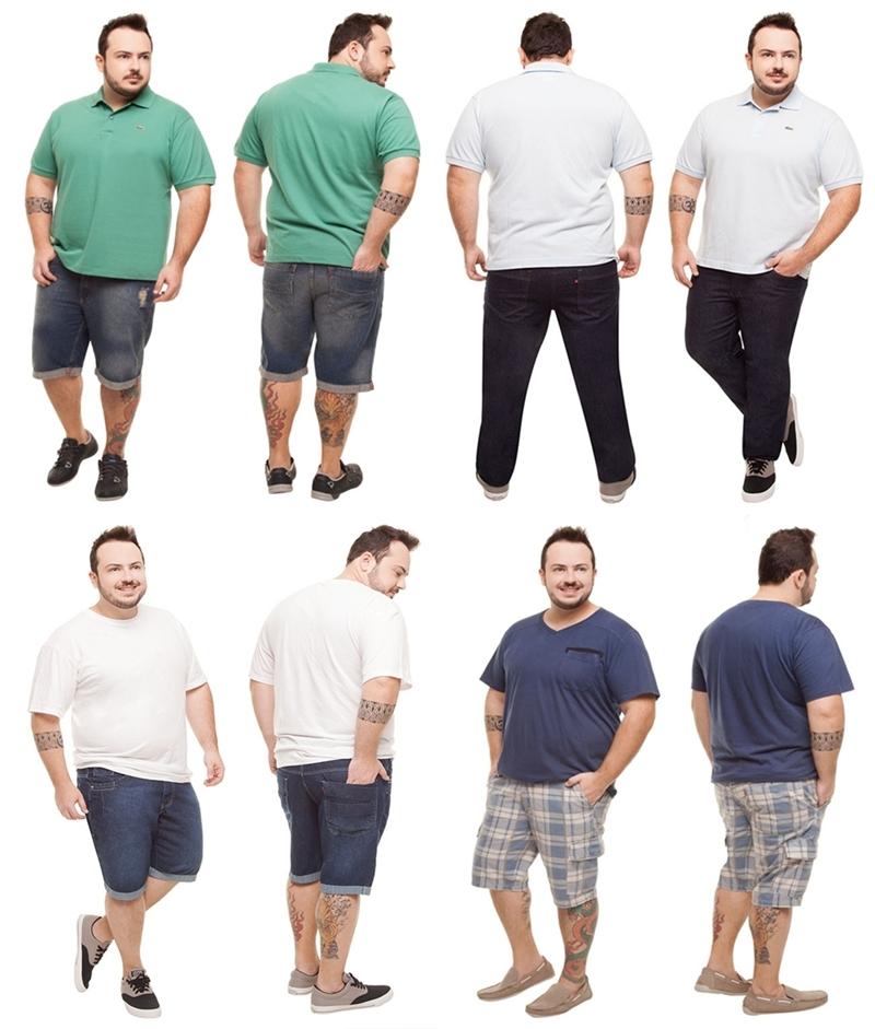 25f090b72ee4 Novas Tendências da Moda Plus Size Masculina 2017 | Ideias Mix
