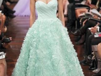 vestidos de casamento coloridos