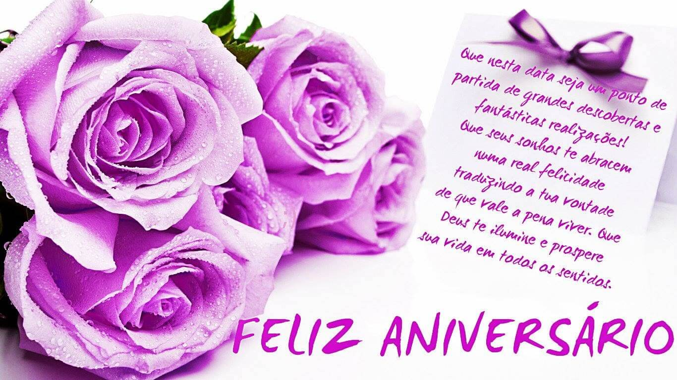 Flores De Aniversario: Mensagens De Feliz Aniversario Para Esposa Para Face E