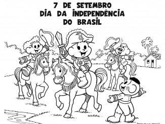 desenhos para o dia da independência do brasil