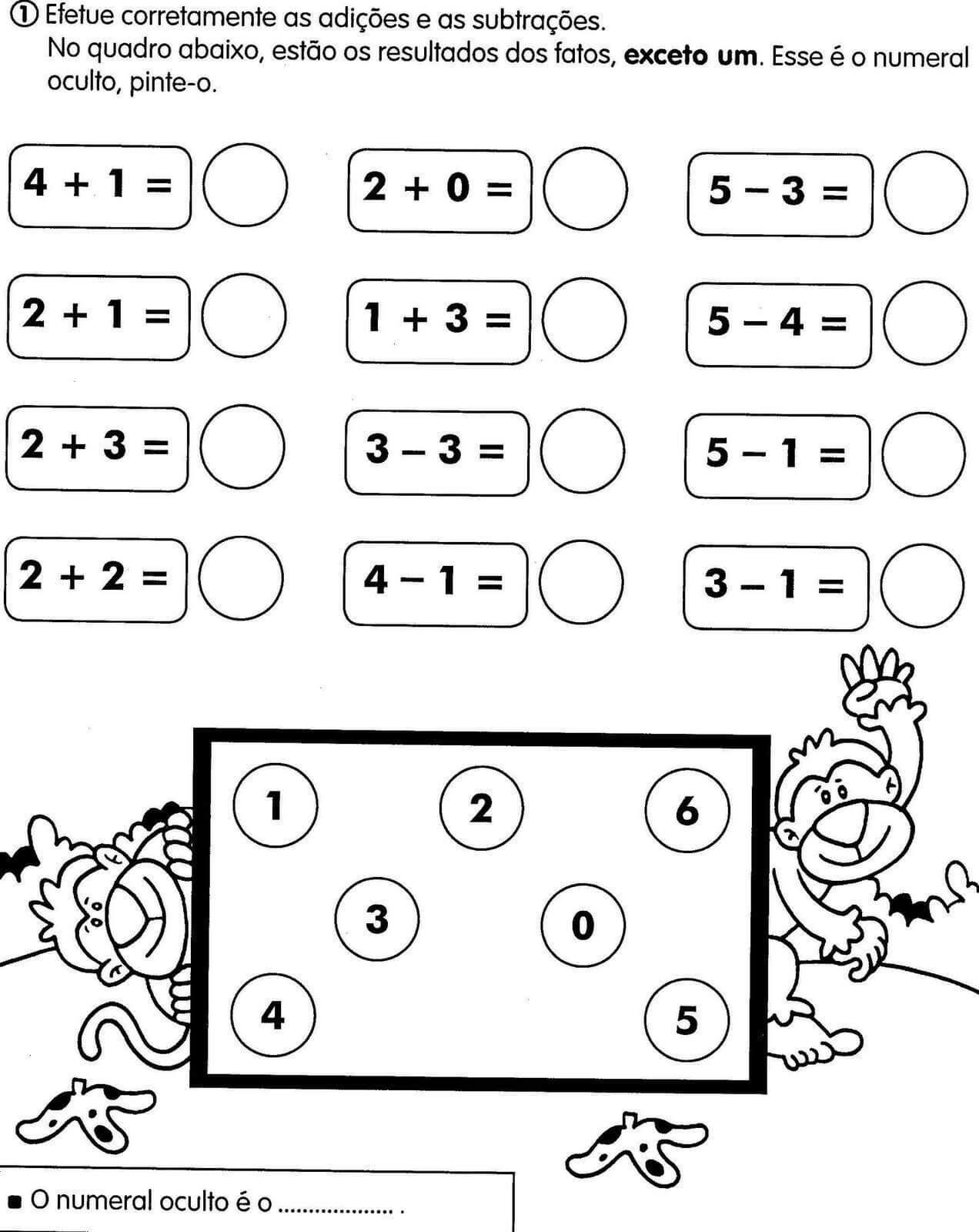 Algumas Dicas De Atividades De Matematica Para Imprimir Ideias Mix
