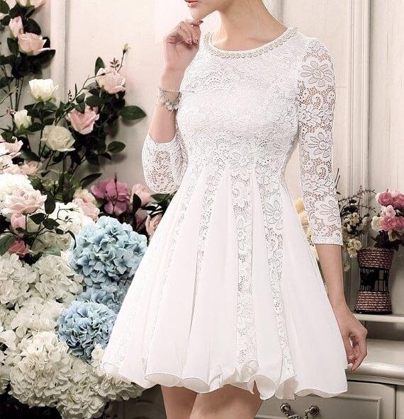 vestido-de-noiva-curto-com-renda