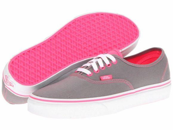 tenis-vans-cinza-com-rosa