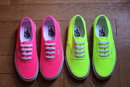 tenis-vans-cor-neon