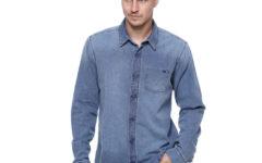 Camisas Jeans Masculinas para homens modernos e de bom gosto